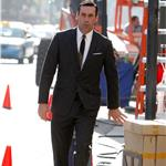 Jon Hamm on the set of Mad Men 99628