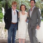 Robert Redford Jon Hamm Elisabeth Moss in Cannes at MIPCOM  70279