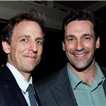 Jon Hamm Seth Meyers at the White House Correspondents' Dinner 87583