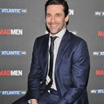 Jon Hamm at a Photocall to promote the fifth season of Mad Men  106371