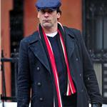 Jon Hamm shoots Friends with Kids in New York January 2011  77107