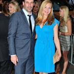Jon Hamm and Jennifer Westfeldt at the New York screening of To Rome With Love 118339