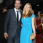 Jon Hamm and Jennifer Westfeldt at the New York screening of To Rome With Love 118342