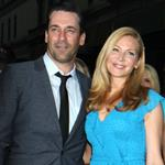 Jon Hamm and Jennifer Westfeldt at the New York screening of To Rome With Love 118343