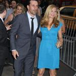 Jon Hamm and Jennifer Westfeldt at the New York screening of To Rome With Love 118344
