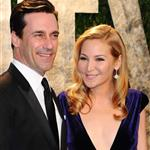 Jon Hamm and Jennifer Westfeldt at Vanity Fair Oscar party 2012 107505