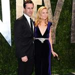 Jon Hamm and Jennifer Westfeldt at Vanity Fair Oscar party 2012 107507
