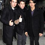 Jonas Brothers in NYC for Letterman 32737