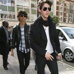 Jonas Brothers in London to promote concert movie 38986