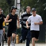 Jonas Brothers at the CIBC Run For The Cure 48221
