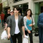 Joe Jonas and Camilla Belle shopping on Oscar day 33751