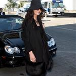 Catherine Zeta-Jones and Michael Douglas arrive at LAX looking old and rich 34393