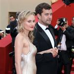Diane Kruger and Joshua Jackson walk the carpet only at Cannes 2011 85258