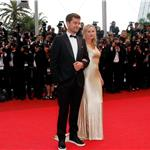 Diane Kruger and Joshua Jackson walk the carpet only at Cannes 2011 85265