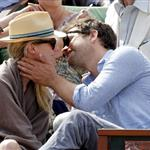 Diane Kruger and Joshua Jackson at the 2012 French Open 116155