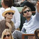 Diane Kruger and Joshua Jackson at the 2012 French Open 116162