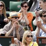 Diane Kruger and Joshua Jackson at the 2012 French Open 116166