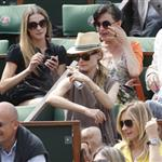 Diane Kruger and Joshua Jackson at the 2012 French Open 116167