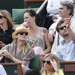 Diane Kruger and Joshua Jackson at the 2012 French Open 116171