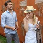Diane Kruger and Joshua Jackson at the 2012 French Open 116172