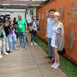 Diane Kruger and Joshua Jackson at the 2012 French Open 116176