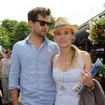 Diane Kruger and Joshua Jackson at the 2012 French Open 116178