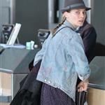 Diane Kruger and Joshua Jackson leaving Vancouver for LA 56368