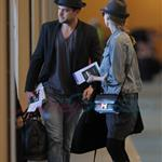 Diane Kruger and Joshua Jackson leaving Vancouver for LA 56378