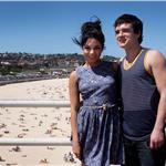 Vanessa Hudgens and Josh Hutcherson at a photo call to promote their latest movie Journey 2: The Mysterious Island at Bondi Beach Sydney 103343