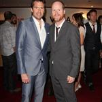 Joss Whedon at TIFF 2012 with Alexis Denisof 126491