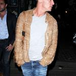 Jonathan Rhys Meyers out in London for Fashion Week, February 2012 121710