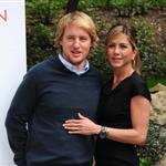 Jennifer Aniston and Owen Wilson in Rome to promote Marley & Me  33941