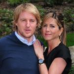Jennifer Aniston and Owen Wilson in Rome to promote Marley & Me  33943