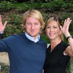 Jennifer Aniston and Owen Wilson in Rome to promote Marley & Me  33936