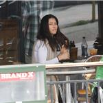 Jessica Biel out for coffee with a friend in LA on Super Bowl weekend 78405