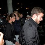 Justin Timberlake and Jessica Biel showed up for dinner at Eva Longoria's restaurant Beso 22848