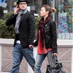Jessica Biel and Justin Timberlake out for a stroll on Sunday 34472