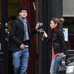 Jessica Biel and Justin Timberlake out for a stroll on Sunday 34475