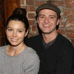 Justin Timberlake and Jessica Biel with Elton John and David Furnish at Southern Hospitality  97298