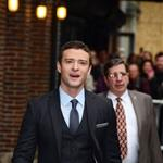 Justin Timberlake at Letterman to promote IN TIME 97301
