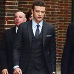 Justin Timberlake at Letterman to promote IN TIME 97302