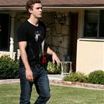 Justin Timberlake on the set of The Social Network 50336