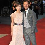 Jude Law and Keira Knightley at the London premiere of Anna Karenina 124953