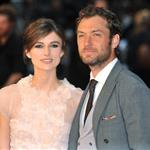 Jude Law and Keira Knightley at the London premiere of Anna Karenina 124962