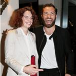 Jude Law with Ruth Wilson at Anna Christie after party 91620