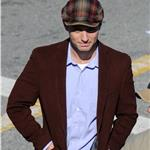 Jude Law on the set of Contagion in San Francisco  78699