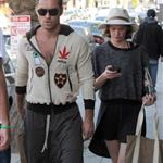 Jude Law grabs lunch on the go with Ruth Wilson in Los Angeles 108754