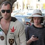 Jude Law grabs lunch on the go with Ruth Wilson in Los Angeles 108755