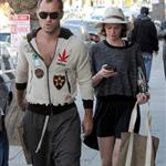 Jude Law grabs lunch on the go with Ruth Wilson in Los Angeles 108757