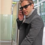 Jude Law arriving in London 57013
